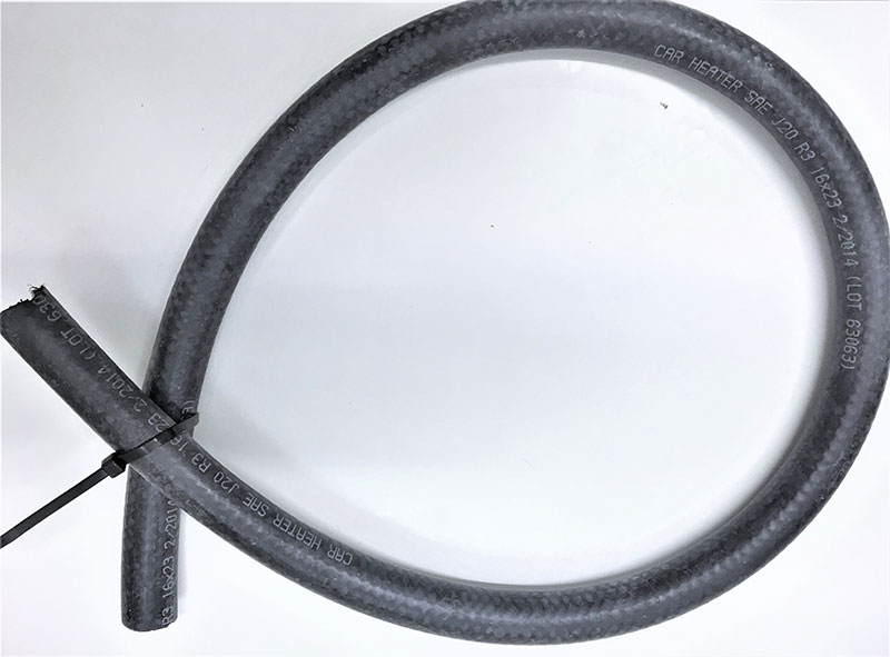 Car Heater, Radiator, Coolant & Engine Flexible EPDM Rubber Hose per metre