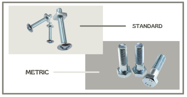 Difference Between Standard & Metric Bolts